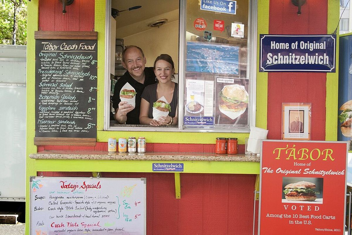 The 'Original Schnitzelwich' Food Cart Is For Sale - Eater ...