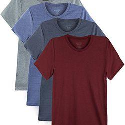 "Bolter <a href=""https://www.amazon.com/Bolter-Everyday-Cotton-T-shirts-X-Large/dp/B06XSLS63K/ref=sr_1_2"">Cotton T-Shirt 4-Pack</a>, $25"