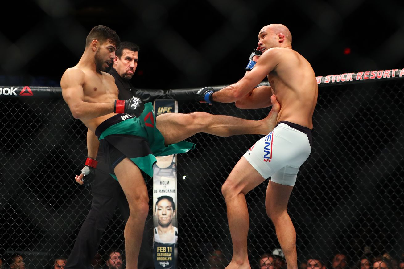 Yair Rodriguez nearly withdrew from BJ Penn fight due to LCL sprain