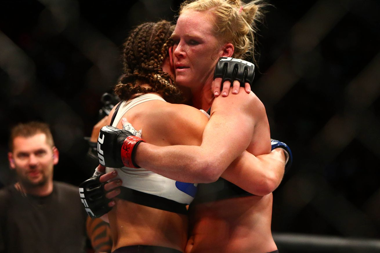community news, UFC 196 scorecard pic for co main event between Holly Holm vs. Miesha Tate