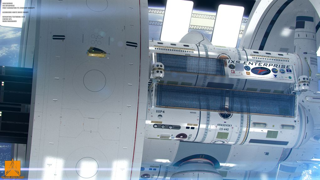 new nasa spaceship warp designs - photo #20