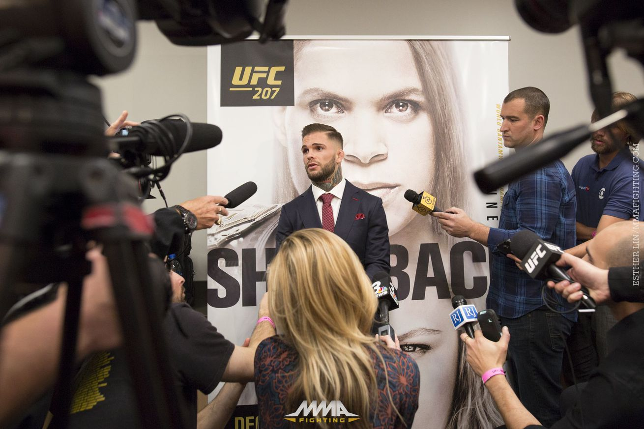 Cody Garbrandt aiming for 'money fight' with Jose Aldo next, wants to 'test his chin'