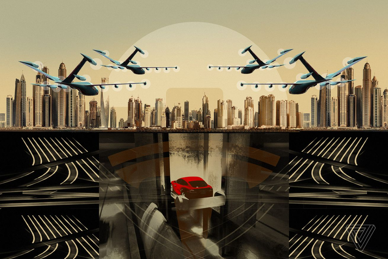 Flying taxis or futuristic tunnels won't save us from the misery of traffic