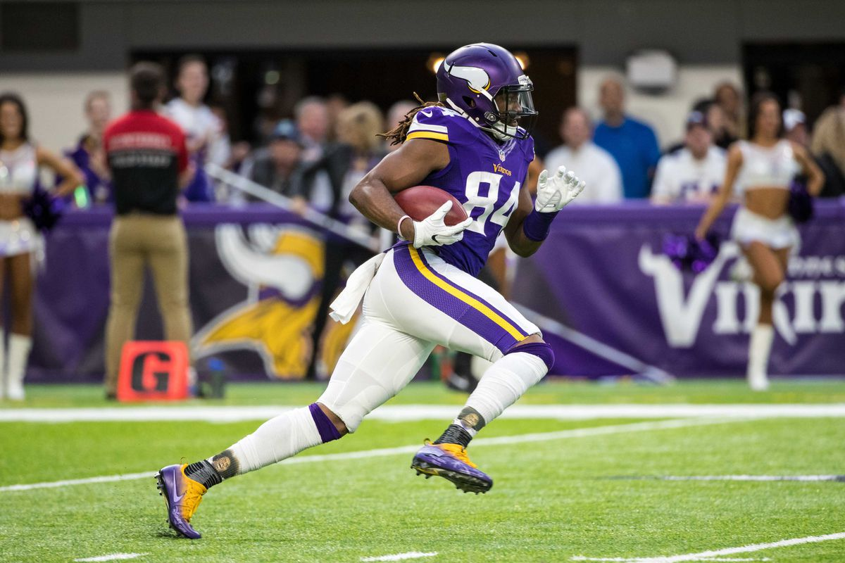 WR Cordarrelle Patterson leaves Vikings for Raiders