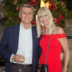 From left, Marc Pritchard (Procter & Gamble), Lotta Malm-Hallqvist (MDC Partners-Europe)