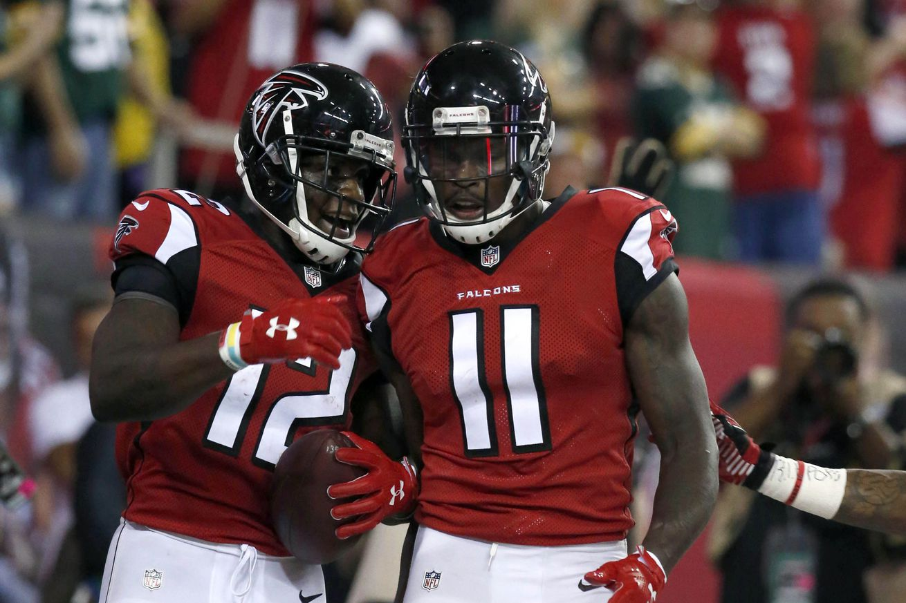 Julio Jones and Mohamed Sanu named NFL's best wide receiver duo