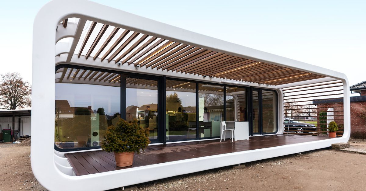These sleek prefabs come with smart home features