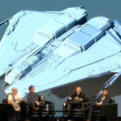 Concept art for the Krait shown at Frontier Expo in 2017.
