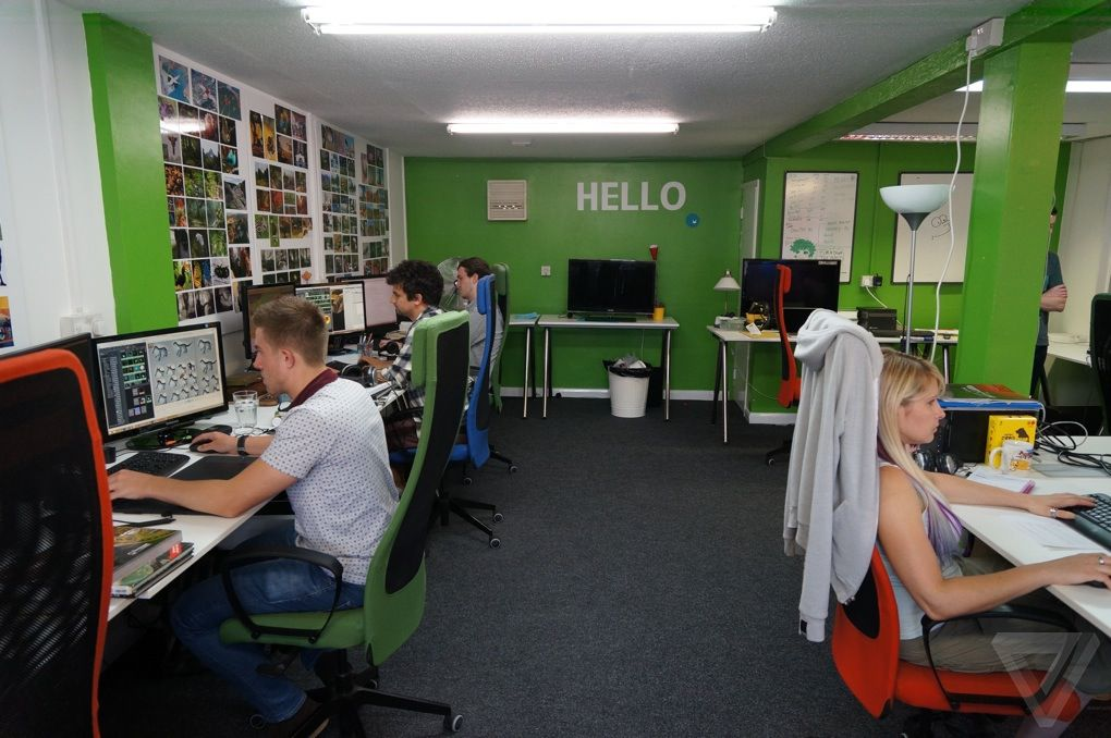 Behind the scenes at Hello Games, makers of 'No Man's Sky ...