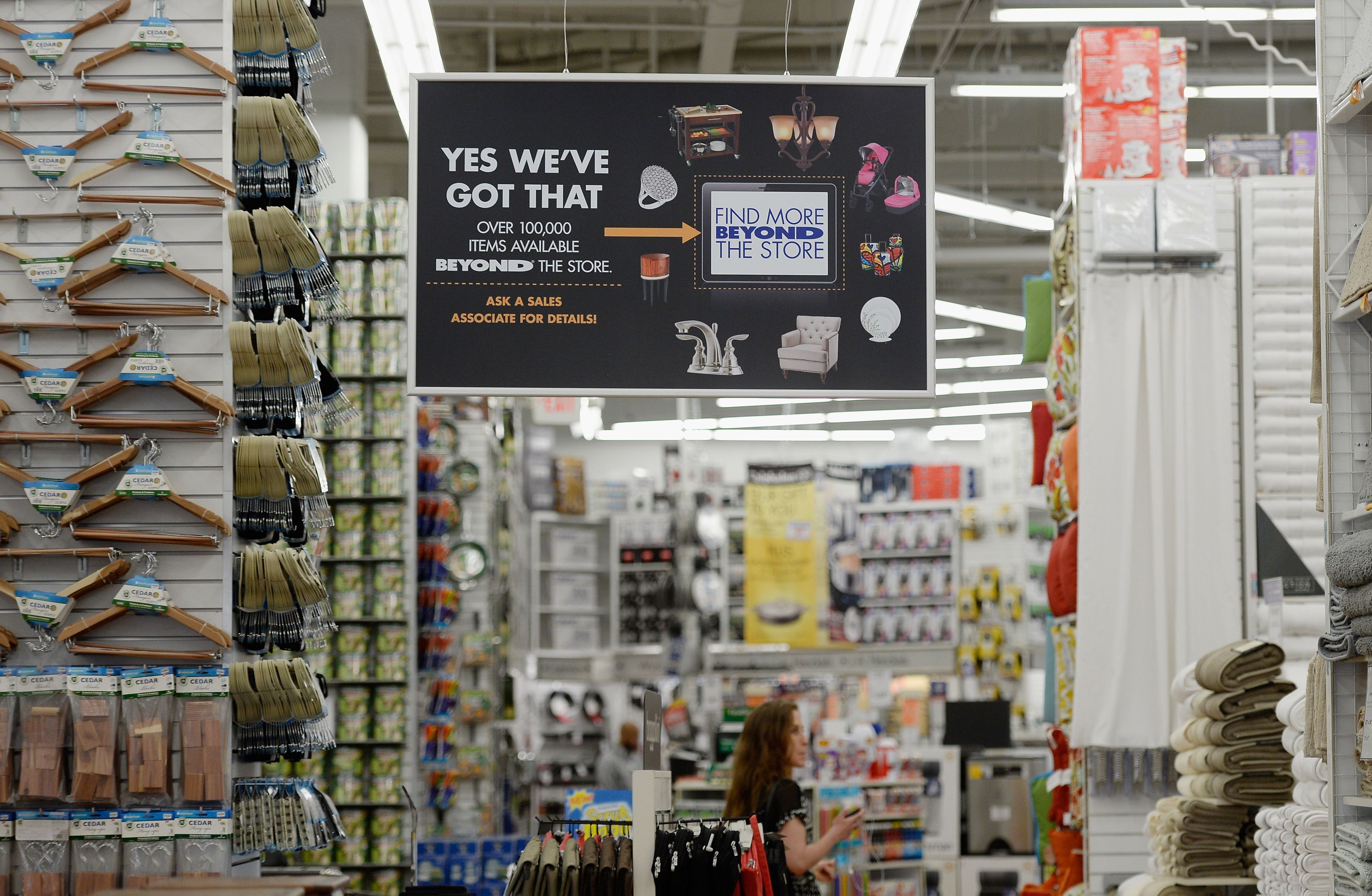 Calculated chaos examining the brilliant strategy behind bed bath beyond racked - Bed bath beyond kitchen ...
