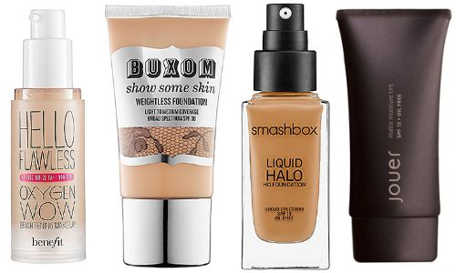 Best foundation makeup with sunscreen