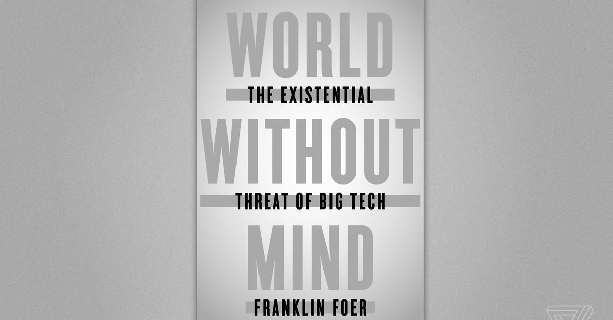 Franklin Foer on how Silicon Valley is threatening our humanity