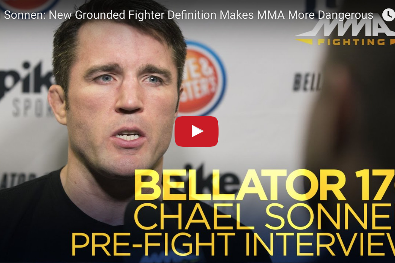 Bellator 170: Chael Sonnen storms off mid interview, warns reporter not to pull scumbag editing move