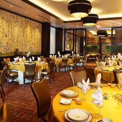 The banquet room at Ping Pang Pong