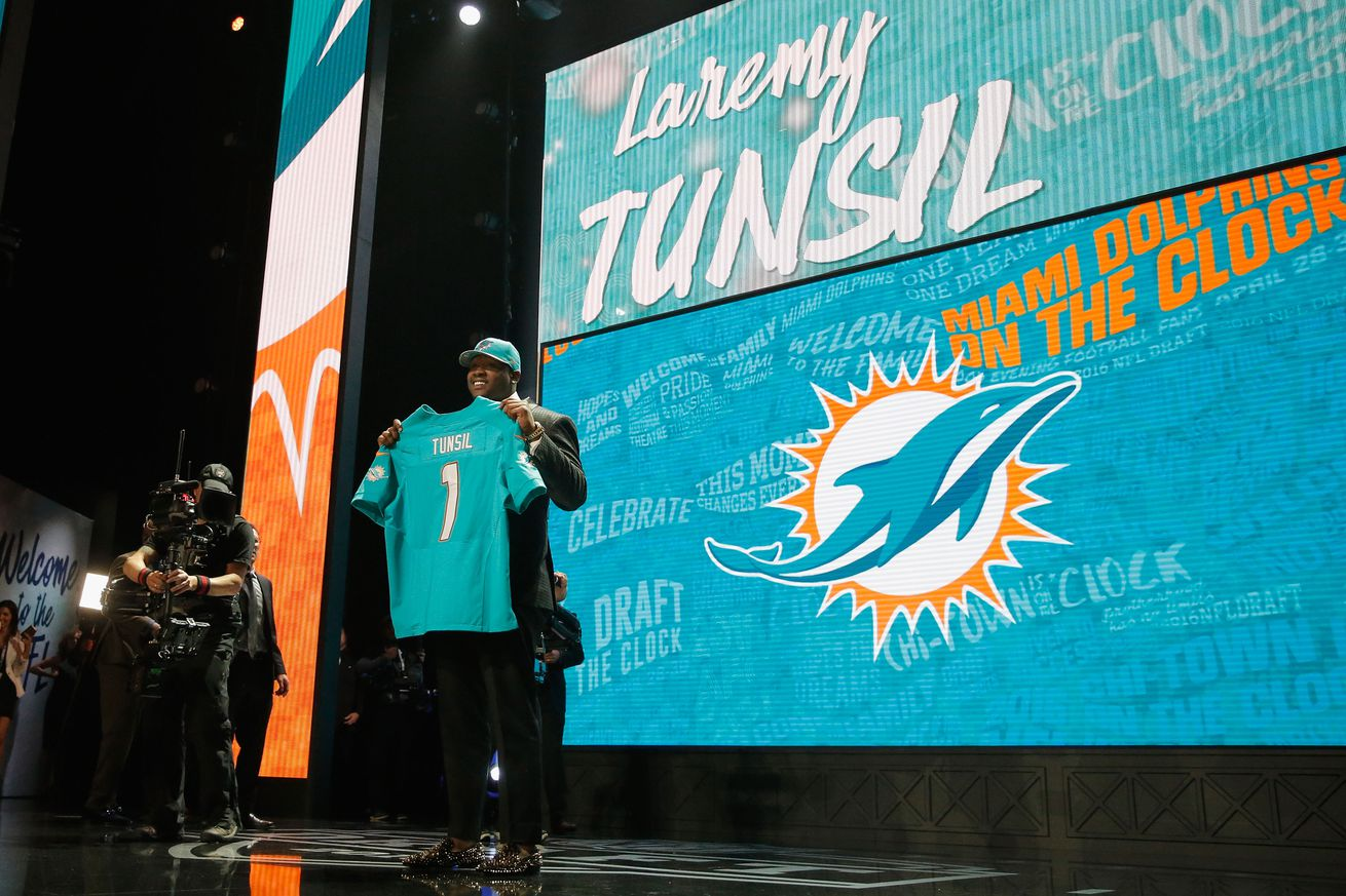 NFL Mock Draft update from SB Nation gives Miami different linebacker