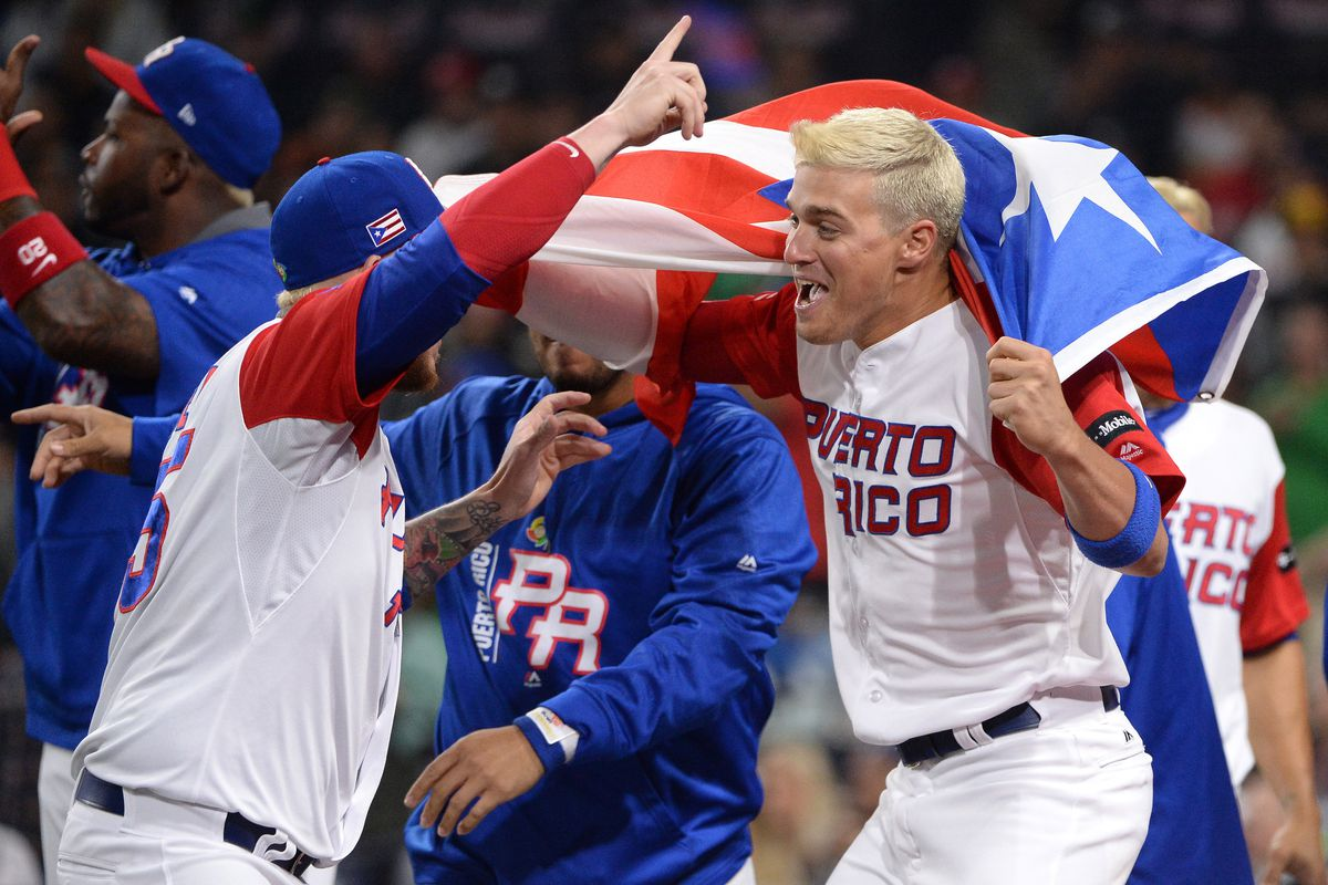 Puerto Rico's big 1st inning keeps Team USA at bay, onto semifinals