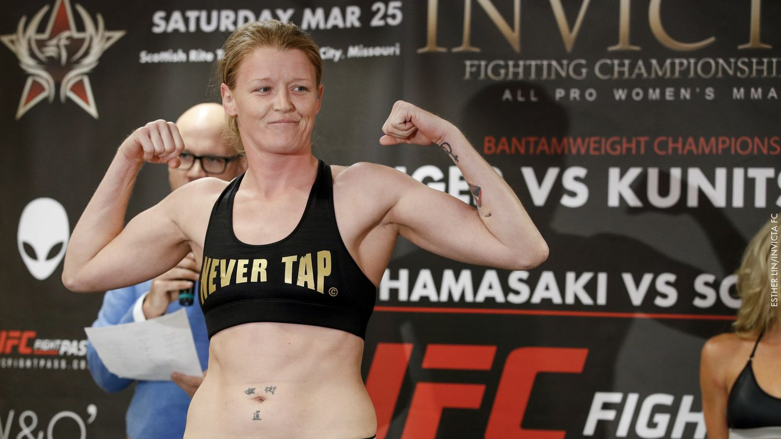 Tonya Evinger thinks the UFC is 'missing the boat' by not signing her