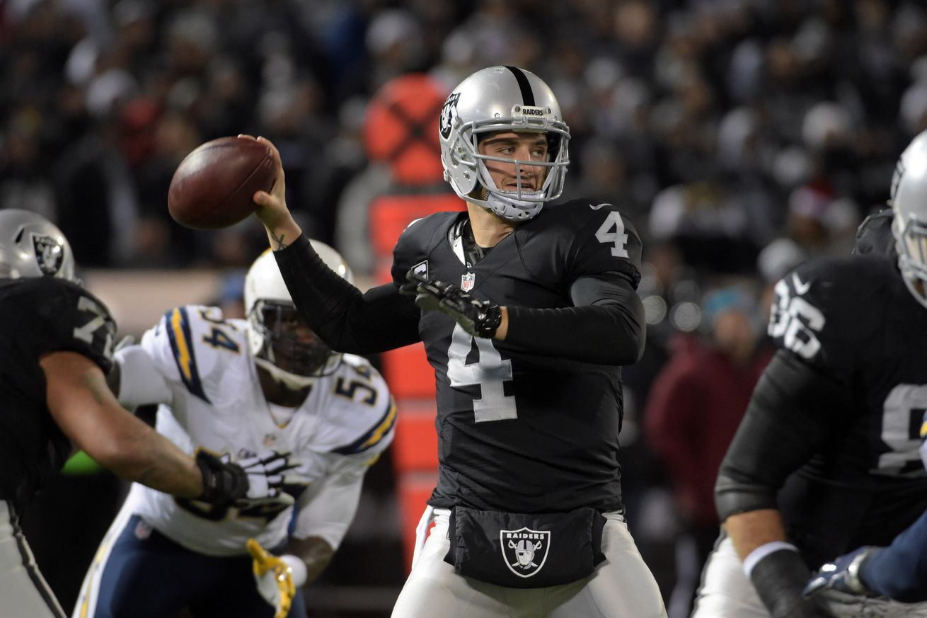 Raiders QB Derek Carr picked as Pro Bowl replacement