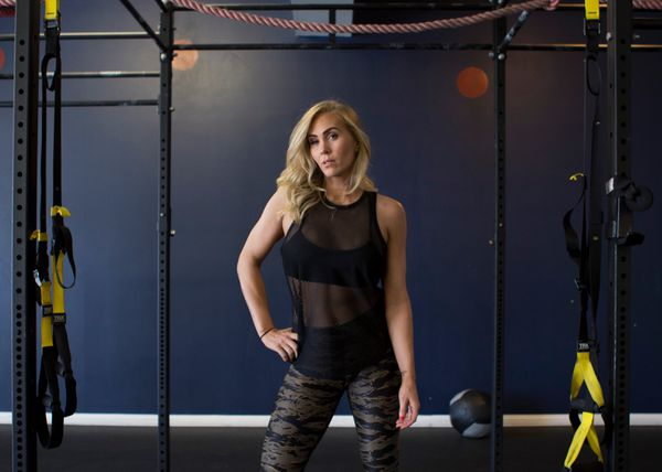 [8/11, 2pm] LA's Hottest Trainer 2015 Contestant #4: Jenn Glysson, The Changing Room