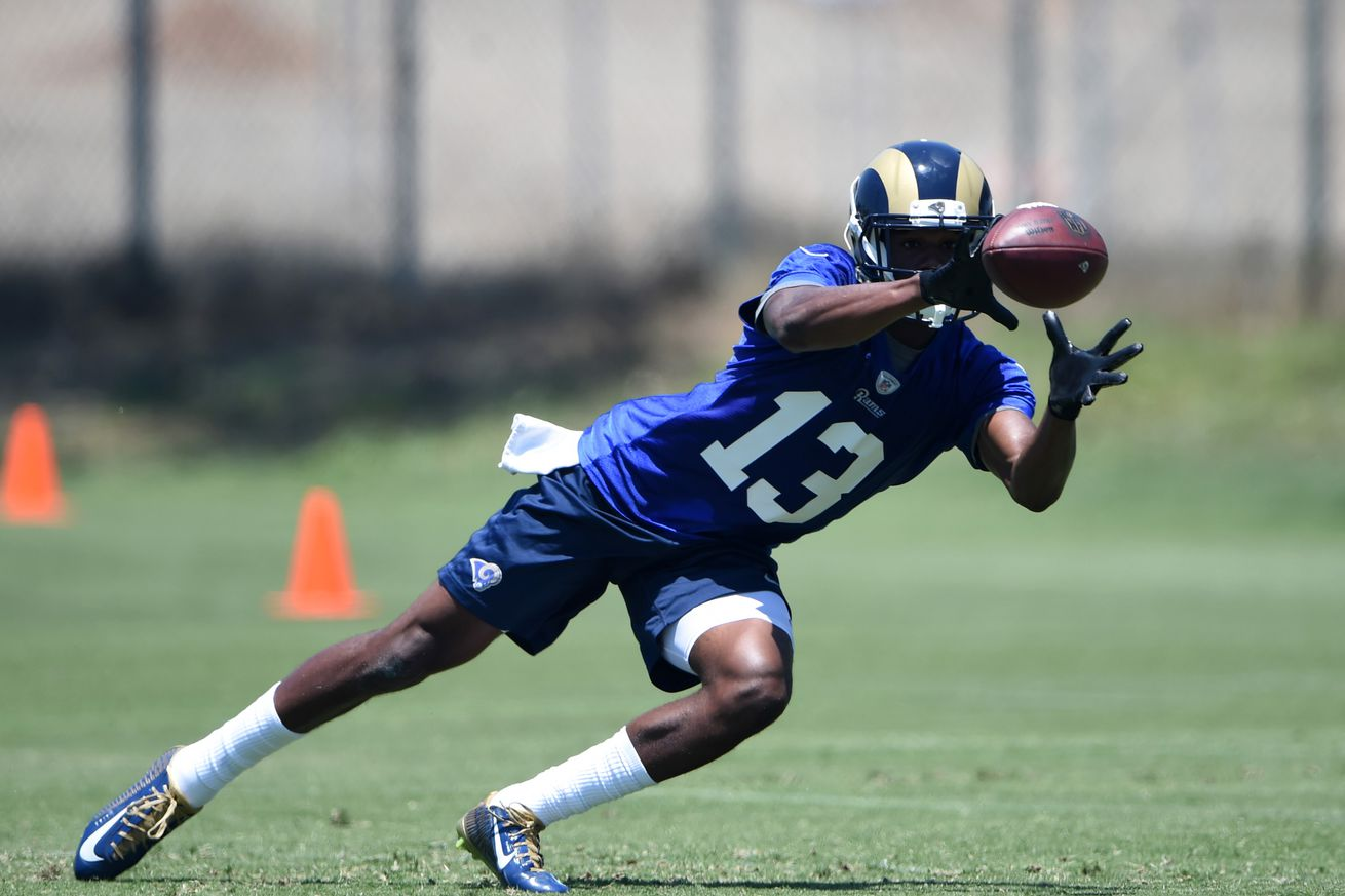 NFL Jerseys NFL - Los Angeles Rams Training Camp: Aug. 3 Practice Recap - Turf Show ...