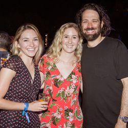 From left, Sarah Adler (Spoon University), Mackenzie Barth (Spoon University), Scott Stedman (Northside Media Group)