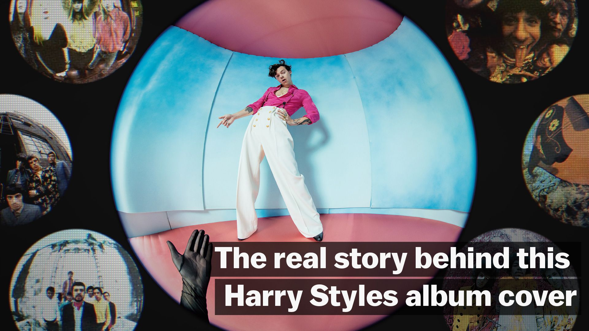 The Real Story Behind This Harry Styles Album Cover Vox