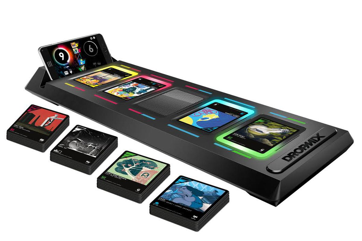 DropMix, a Music-Mixing Card Game Announced by Hasbro