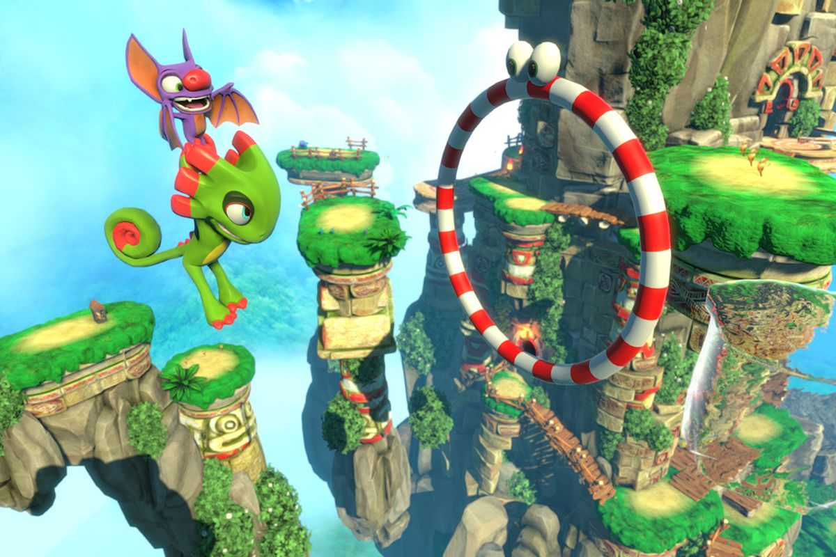 Yooka-Laylee's Biggest Issues Should Be Fixed For The Nintendo Switch Version