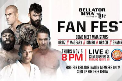 community news, Bellator MMA announces Kimbo Slice, Royce Gracie and more for Fan Fest on Nov. 5 in Missouri