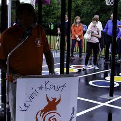 Kevin's Kourt Dedication - South Windsor, CT<br>