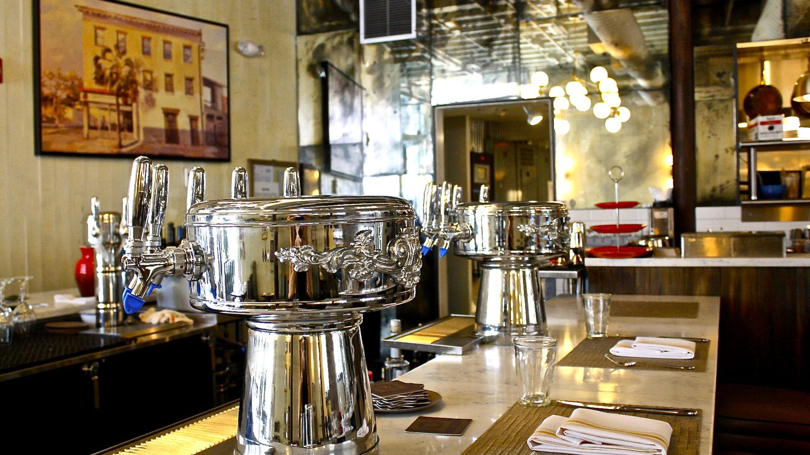 The westendorff to reopen as greek restaurant stella s for Stellas fish cafe menu