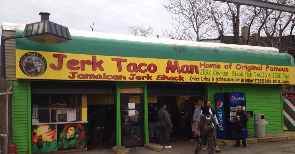 Cult Favorite Jerk Taco Man Previews New South Side Location Eater