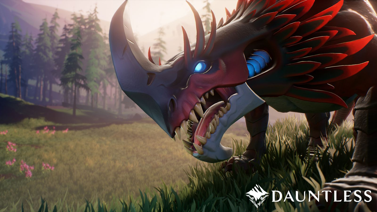 Dauntless is a co-op RPG about hunting magical dinosaurs