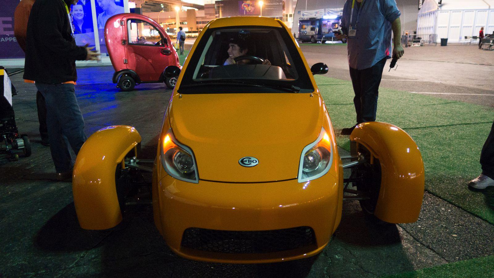Elio Motors Self Driving Car