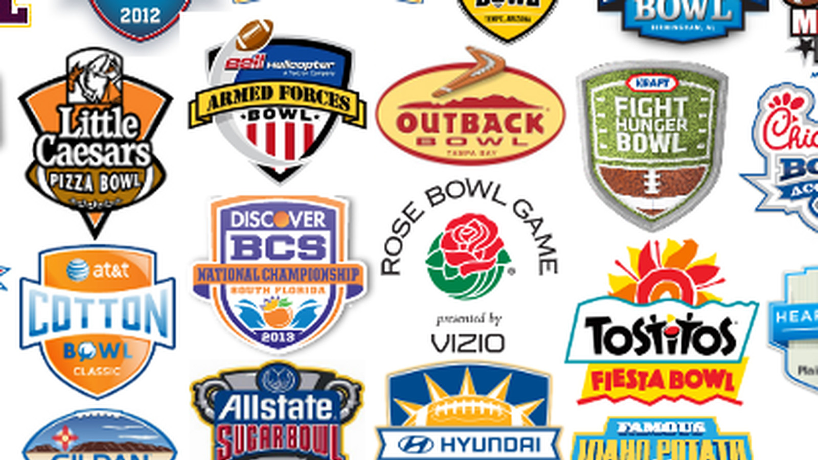 college bowl projections 2012