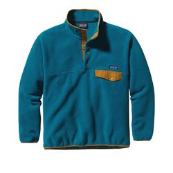 """Patagonia <a href=""""https://www.amazon.com/Patagonia-Synchilla-Snap-T-Fleece-Pullover/dp/B00OZFTHPK/ref=sr_1_7"""">Fleece Pullover</a>, from $118"""