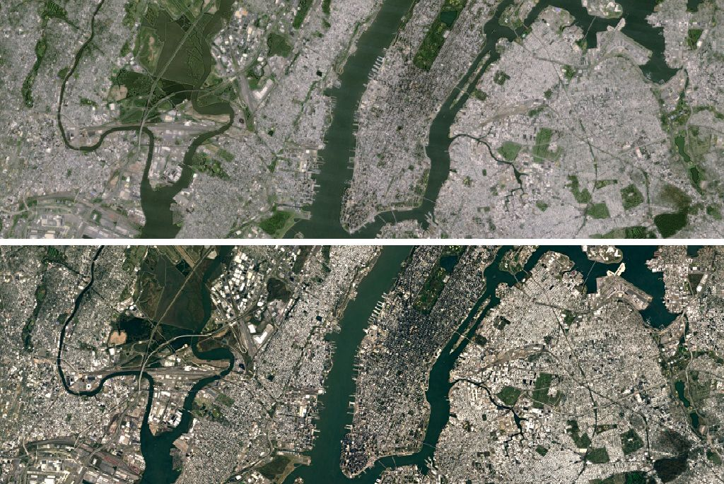 how to get google satellite maps