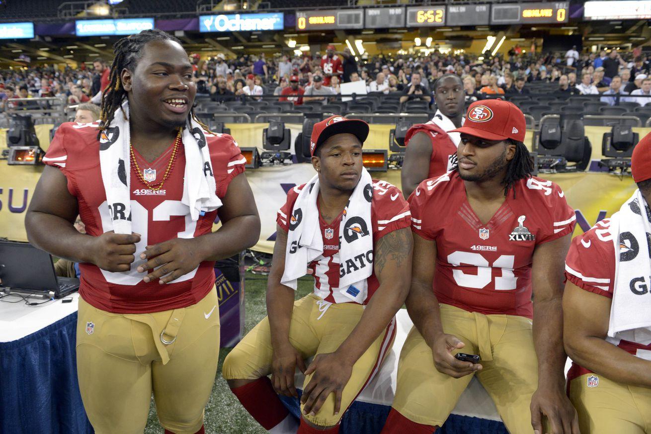 NFL Jerseys Nike - 49ers defensive line depth chart: Return of Ian Williams boosts ...