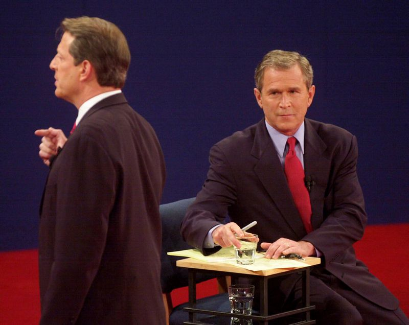 george bush and al gores presidential debate on education The faith of george w bush, by stephen mansfield gore's 191-page economic plan presidential debate, wake forest u,  al gore on education .