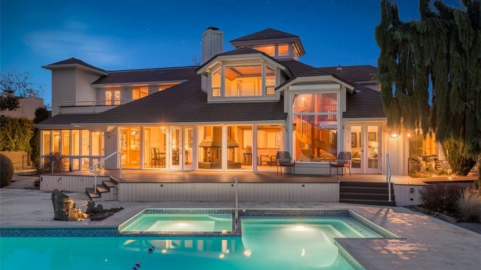 mirrors abound in this 4 7m newport shores home curbed