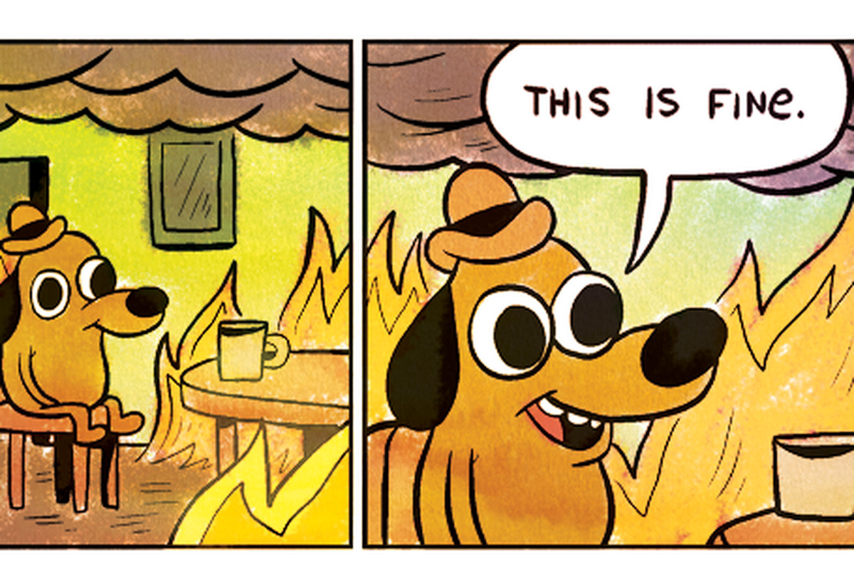 The This Is Fine Dog Is Getting A Plush Toy Polygon