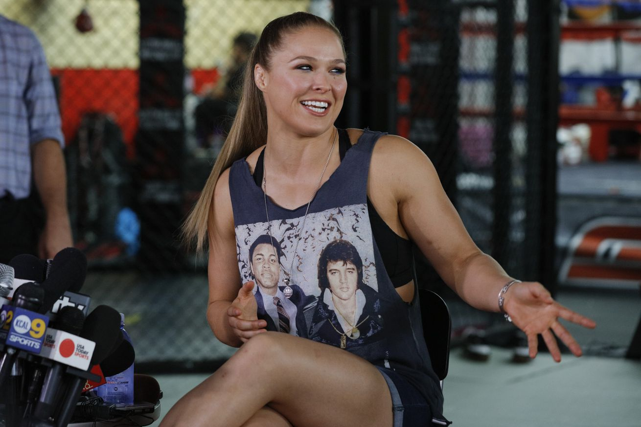 Ronda Rouseys return to fighting is up to her, says UFC president Dana White