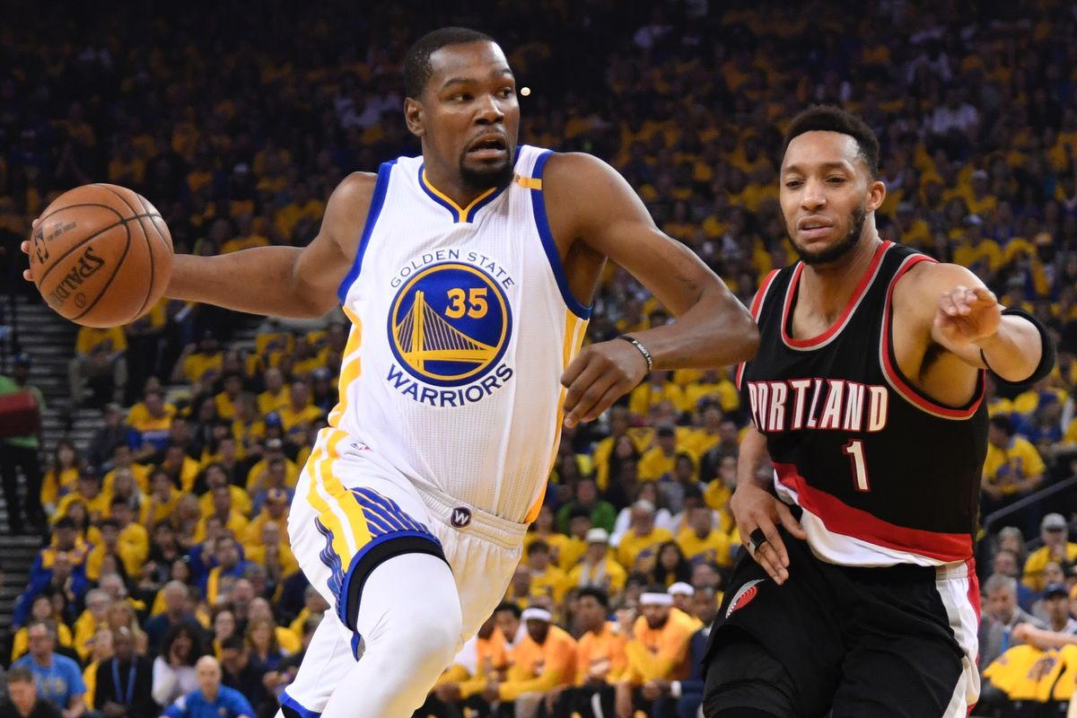 Warriors take 2-0 series lead on Blazers, win without Durant