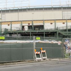 West gate, to be operational on Opening Night
