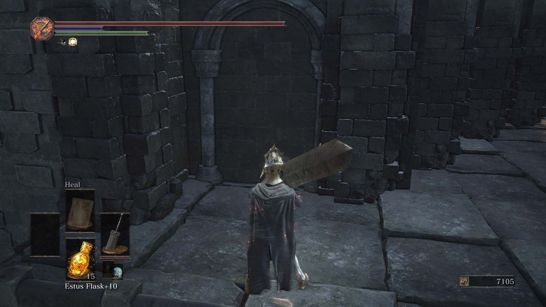 dark souls 3 how to get away from aldrich arrows