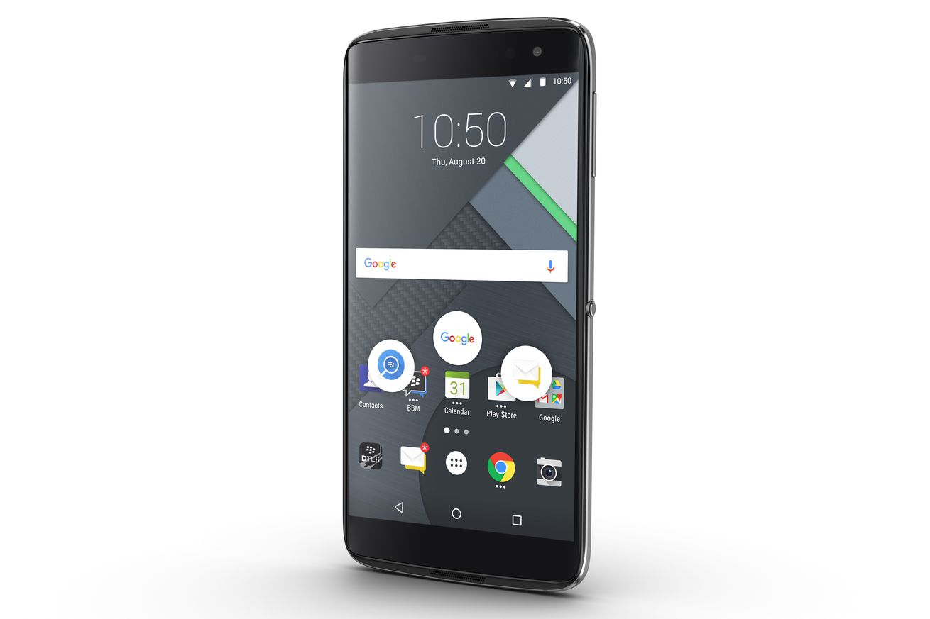 BlackBerry makes the DTEK60 official, available today for $499