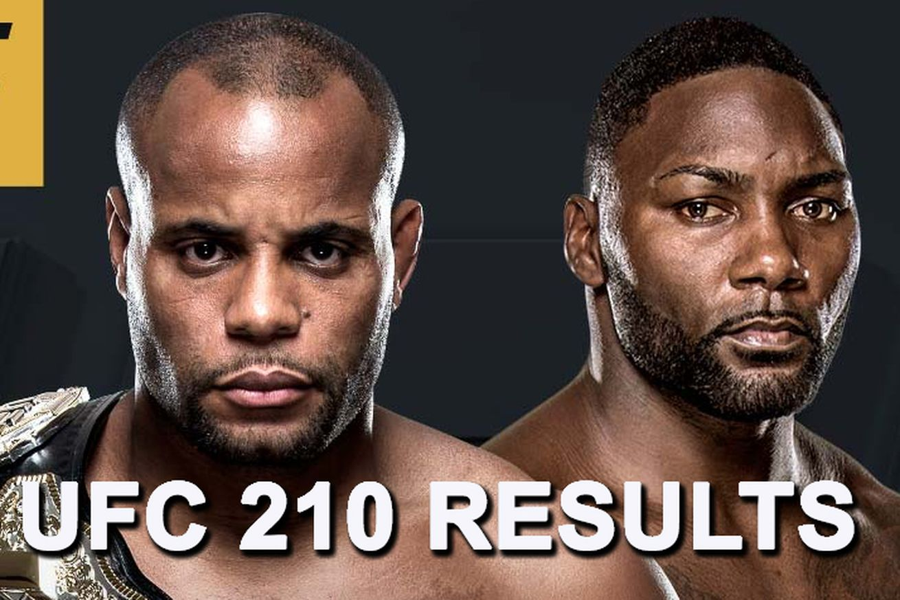 community news, UFC 210 results: Daniel Cormier vs Anthony Johnson live stream play by play updates