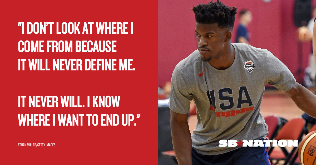 Jimmy Butler Only Cares About The Glory Ahead Of Him