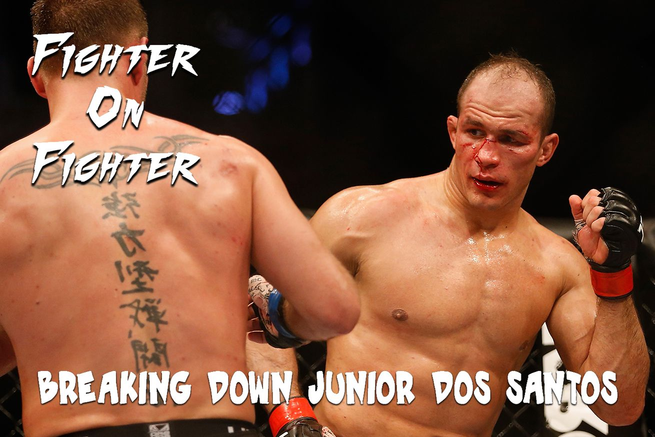 community news, Fighter on Fighter: Breaking down UFC 211's Junior dos Santos