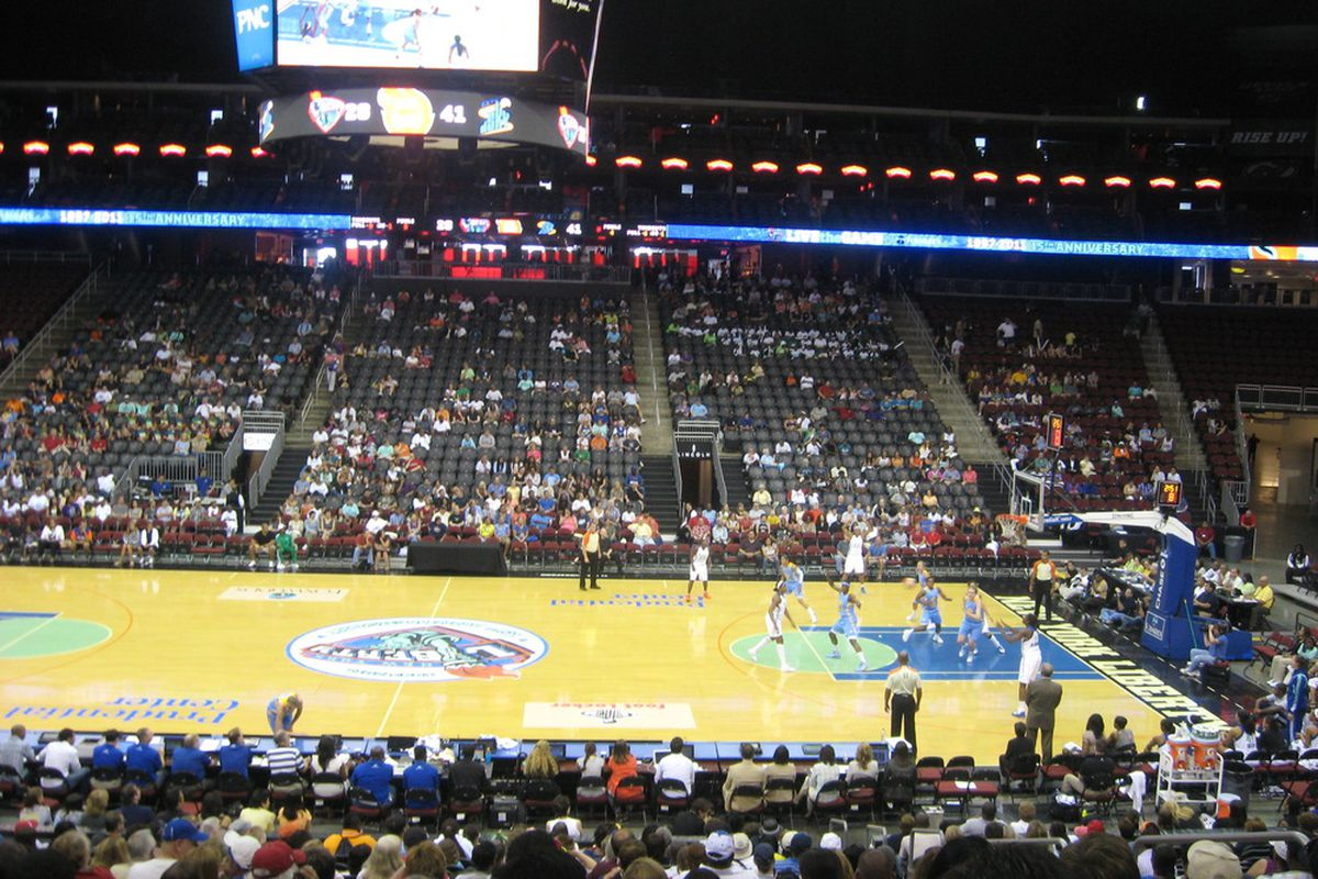 photo essay new york liberty vs chicago sky swish appeal photo from the stands at the prudential center in new jersey
